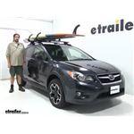 Lockrack  Watersport Carriers Review - 2014 Subaru XV Crosstrek