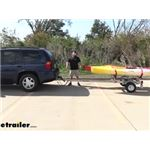 Malone EcoLight 2 Kayak Sport Trailer Review and Assembly
