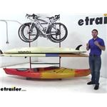 Malone FS Bike SUP and Kayak Storage Rack Review