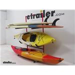 Malone Kayak and SUP Free Standing Storage Rack Review