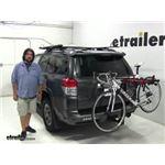 Malone  Hitch Bike Racks Review - 2012 Toyota 4Runner