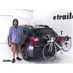 Malone  Hitch Bike Racks Review - 2014 Subaru XV Crosstrek