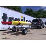 Malone MegaSport Kayak Trailer Review