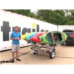 Malone 4 Boat MicroSport Trailer Review and Assembly