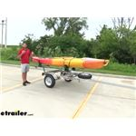 Malone MicroSport Trailer for 2 Boats Review and Installation