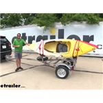 Malone MicroSport Trailer with J-Pro 2 Kayak Carriers Review