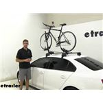 Malone Roof Bike Racks Review - 2013 Volkswagen Jetta