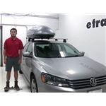 Malone  Roof Box Review - 2014 Volkswagen Passat