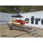 Malone MegaSport Kayak Trailer 2nd Tier Load Bar System Review