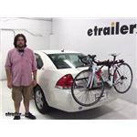Malone  Trunk Bike Racks Review - 2008 Chevrolet Impala