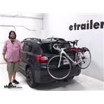 Malone  Trunk Bike Racks Review - 2014 Subaru XV Crosstrek