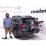 Malone  Trunk Bike Racks Review - 2017 Subaru Outback Wagon