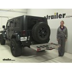 MaxxTow  Hitch Cargo Carrier Review - 2007 Jeep Wrangler Unlimited