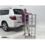 MaxxTow Aluminum Hitch Cargo Carrier Review - 2008 Toyota Highlander