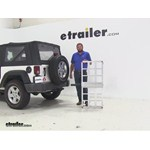 MaxxTow  Hitch Cargo Carrier Review - 2009 Jeep Wrangler