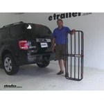 MaxxTow  Hitch Cargo Carrier Review - 2010 Ford Escape