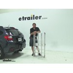 MaxxTow  Hitch Cargo Carrier Review - 2014 Subaru XV Crosstrek