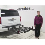 MaxxTow  Hitch Cargo Carrier Review - 2016 Chevrolet Tahoe
