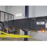 Optronics Square LED Trailer Clearance Light Installation