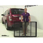 Pro Series  Hitch Cargo Carrier Review - 2005 Chevrolet Equinox