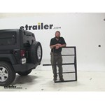 Pro Series  Hitch Cargo Carrier Review - 2014 Jeep Wrangler Unlimited
