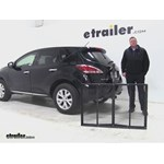Pro Series  Hitch Cargo Carrier Review - 2014 Nissan Murano