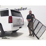 Pro Series  Hitch Cargo Carrier Review - 2015 Chevrolet Tahoe