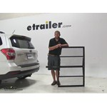 Pro Series  Hitch Cargo Carrier Review - 2015 Subaru Forester