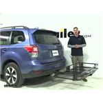Reese 24x60 Hitch Cargo Carrier Review - 2017 Subaru Forester