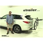 Reese Explore Hitch Bike Racks Review - 2014 Infiniti QX60