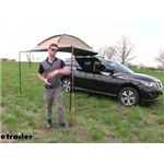 Rhino-Rack Roof Rack Mount Dome 1300 Awning Review and Installation