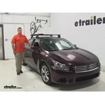 Rhino Rack MountainTrail Roof Bike Racks Review - 2014 Nissan Maxima