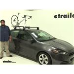 Rhino Rack MountainTrail Roof Bike Racks Review - 2016 Dodge Dart