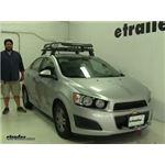 Rhino Rack  Roof Basket Review - 2014 Chevrolet Sonic