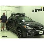 Rhino Rack  Roof Basket Review - 2014 Subaru XV Crosstrek