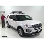 Rhino Rack  Roof Basket Review - 2016 Ford Explorer