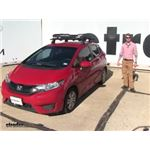 Rhino Rack  Roof Basket Review - 2016 Honda Fit