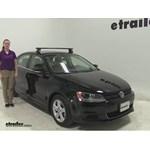 Rhino Rack  Roof Rack Review - 2013 Volkswagen Jetta