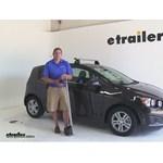 Rhino Rack  Roof Rack Review - 2014 Chevrolet Sonic
