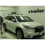 Rhino Rack  Ski and Snowboard Racks Review - 2015 Toyota Highlander