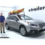 Rhino Rack Watersport Carriers Review - 2015 Subaru Outback Wagon