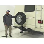 Roadmaster Hitch Mounted Spare Tire Carrier Review