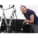 RockyMounts DriveShaft Track Truck Bed Bike Rack Review