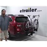 RockyMounts  Hitch Bike Racks Review - 2018 Subaru Outback Wagon
