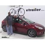 RockyMounts  Roof Bike Racks Review - 2013 Ford Focus