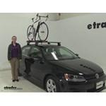 RockyMounts  Roof Bike Racks Review - 2013 Volkswagen Jetta