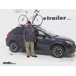 RockyMounts  Roof Bike Racks Review - 2014 Subaru XV Crosstrek