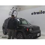 RockyMounts  Roof Bike Racks Review - 2015 Jeep Renegade