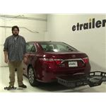 Rola 21x55 Hitch Cargo Carrier Review - 2017 Toyota Camry