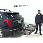Rola 22x59 Hitch Cargo Carrier Review - 2019 Cadillac XT5